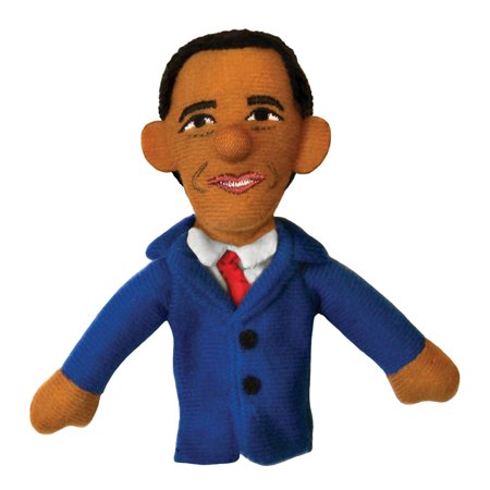 Barack Obama Finger Puppet and Refrigerator Magnet