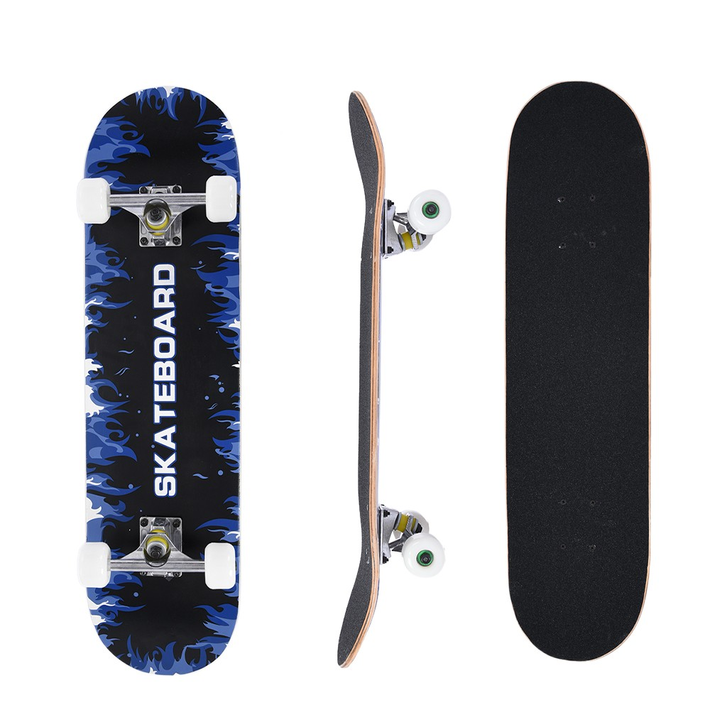 """Details about  /31/""""Complete Standard Maple Skateboard for Girls Boys Beginners Outdoors"""