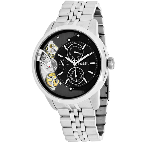 Fossil Men's Townsman Watch Automatic Mineral Crystal ME1135