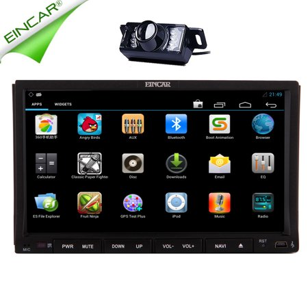 eincar android 5 1 lollipop gps navigation autoradio double din bt audio rds in. Black Bedroom Furniture Sets. Home Design Ideas