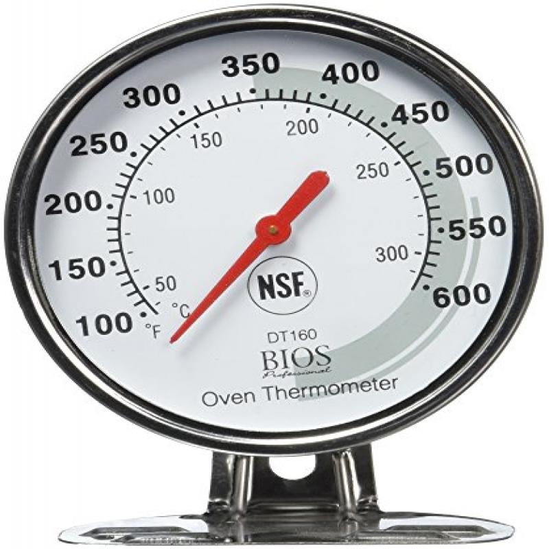 BIOS Professional Oven Thermometer, White by