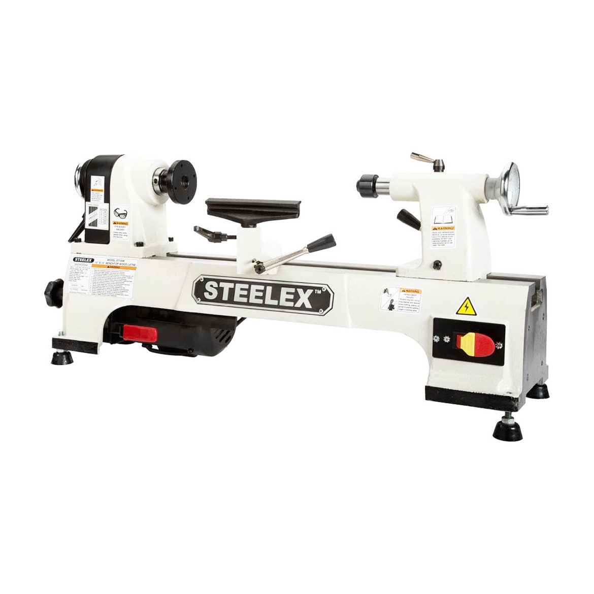 Steelex ST1008 10-Inch x 15-Inch 1 2-Hp Single-Phase Benchtop Wood Lathe by STEELEX