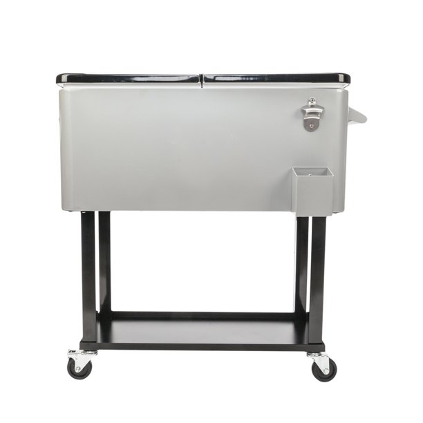 Patio Cooler Rolling Ice Chest