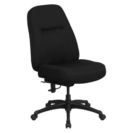 Flash Furniture Hercules Series 500 Lbs  Capacity High Back Big And Tall Office Chair With Extra Wide Seat   Black
