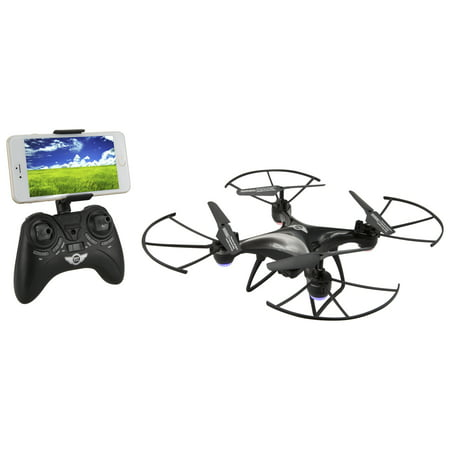 Sky Rider Eagle 3 Pro Quadcopter Drone with Wi-Fi Camera - Black