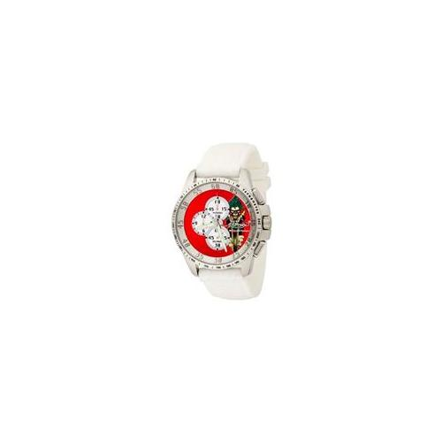 Ed Hardy DR - WH Dragster White Chronograph Red Dial Mens Watch