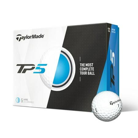 TaylorMade TP5 Golf Balls, 12 Pack