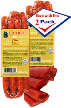 Chistorra Chorizo Quijote 7 oz Pack of 2 by