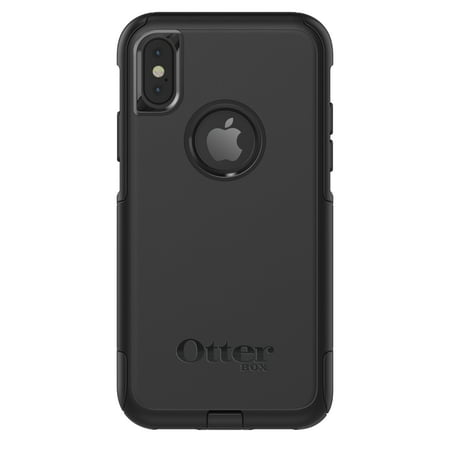 OtterBox Commuter Series Case for iPhone X, Black (Best Case For Iphone X)
