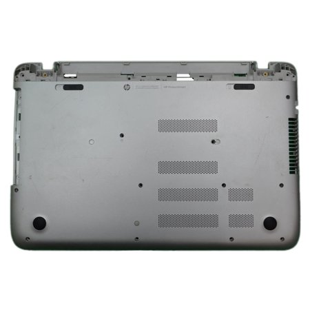 762498-001 HP Pavilion 15-P Series Silver Laptop Lower Bottom Base Case Cover US Laptop Base Assembly - Used Good - Pavilion Bottom Base