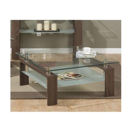 Jofran 198 2g Compass Cocktail Table Square Tempered