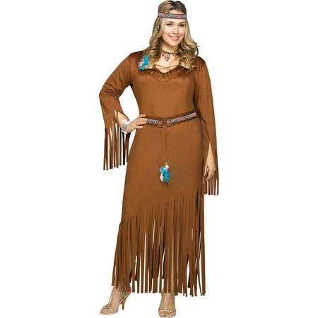 Summer Warrior Women's Plus Size Halloween Costume, One Size, 22-24