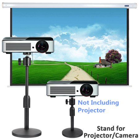 Universal Laptop Projector Presentation Camera Stand— Multifunction Stand with Adjustable Height 21-30cm