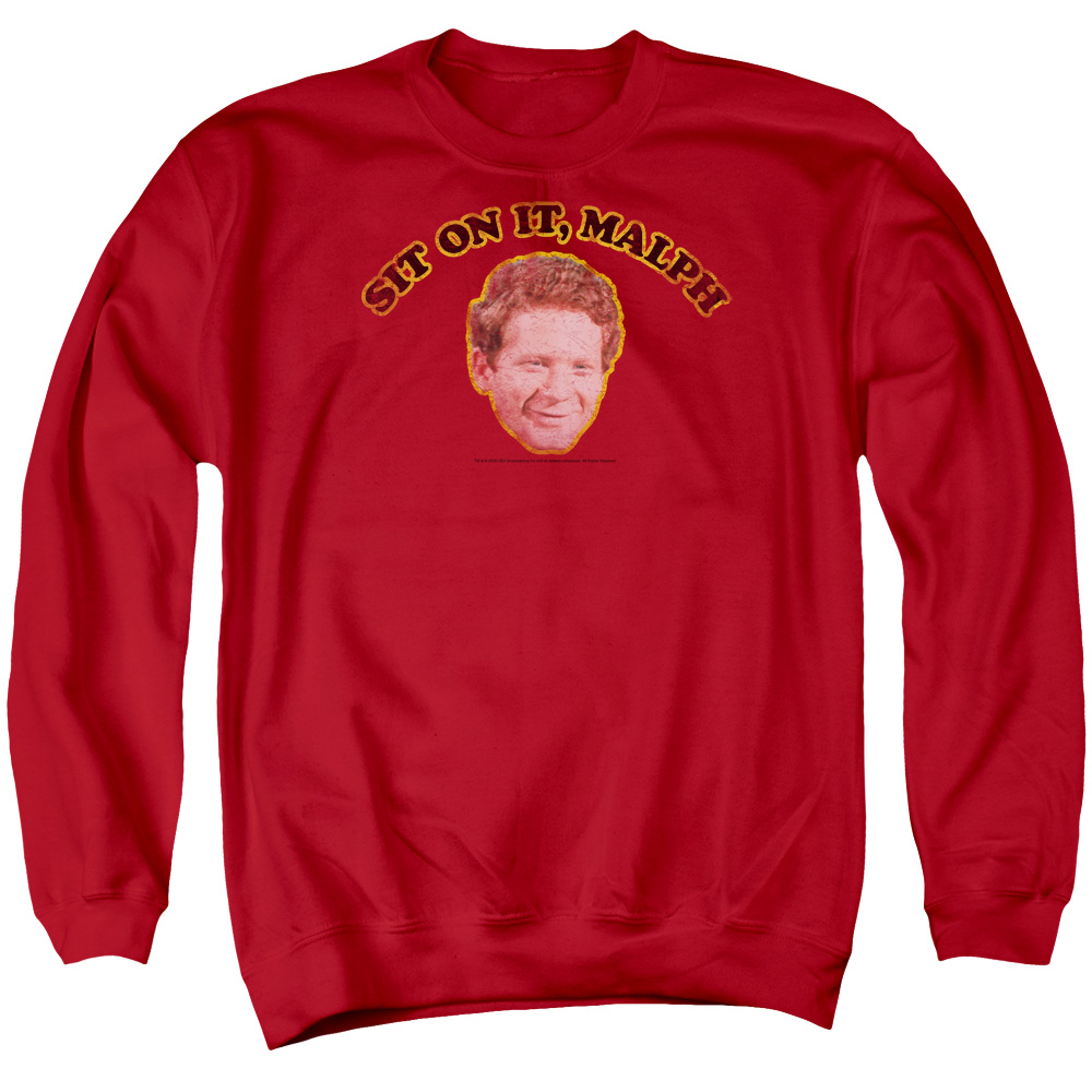 Happy Days Sit On It Malph Mens Crewneck Sweatshirt