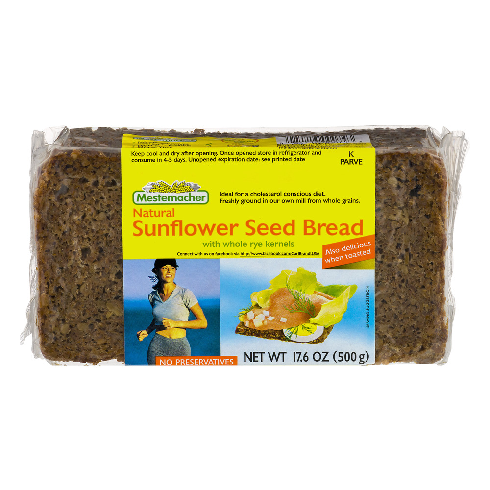 Mestemacher Sunflower Seed Bread 17.6 oz by Mestemacher GmbH