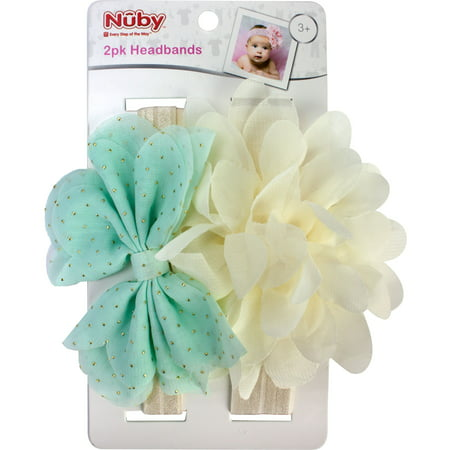 Best Brands Nuby Head Band Set- (Headband Set)