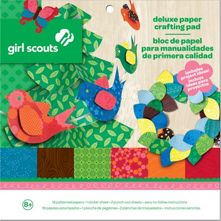 Girl Scouts Deluxe Paper Crafting Pad Walmart Com