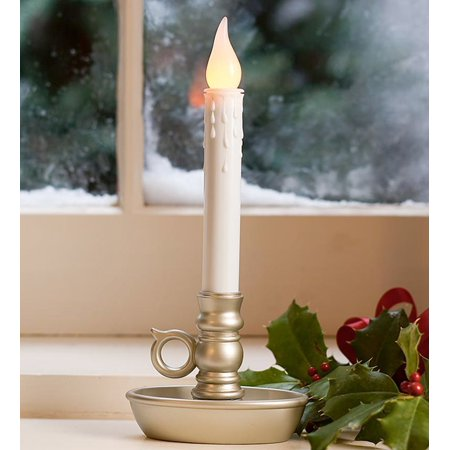 half off eaf16 7c450 Battery-Operated Window Candle with LED Lights