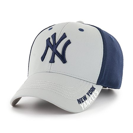 New York Yankees Mlb Tackle (MLB New York Yankees Completion Adjustable Cap/Hat by Fan Favorite )