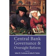 Central Bank Governance and Oversight Reform - eBook