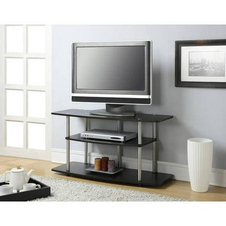 Convenience Concepts Designs2go No Tools 3 Tier Wide Tv Stand
