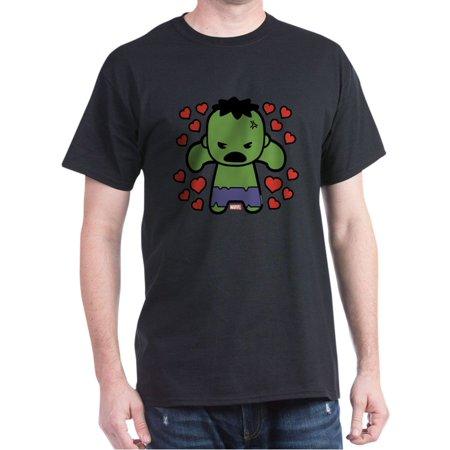 CafePress - Hulk Hearts T-Shirt - 100% Cotton T-Shirt (3x Hulk Shirt)
