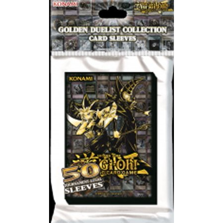 Yu-Gi-Oh Golden Duelist Card Sleeves [50 Count]