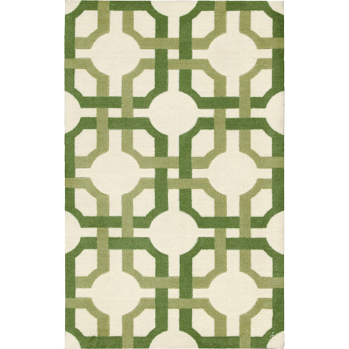 "Nourison Waverly Artisanal Delight ""Groovy Grille"" Area Rug"