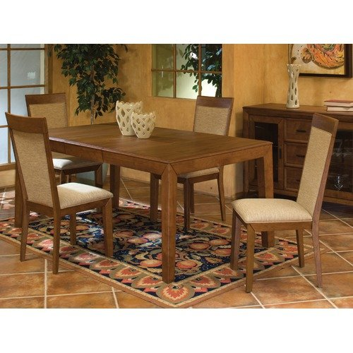 Imagio Home Wellesley Dining Table, Caramel