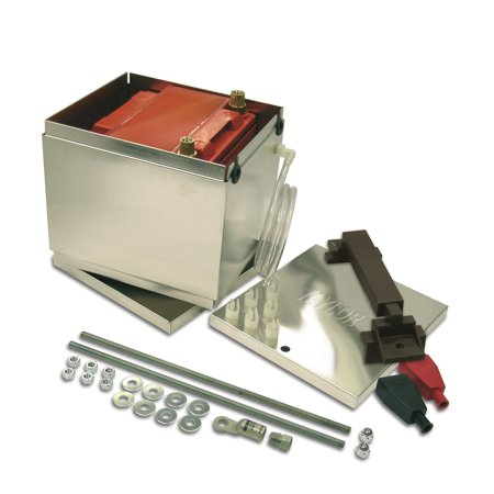 Taylor Wire / Vertex 48300 TAY48300 BATTERY BOX ALUMINUM ODYSSEY BATTERY