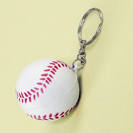 Baseball Key Chain - 12 per pack ()