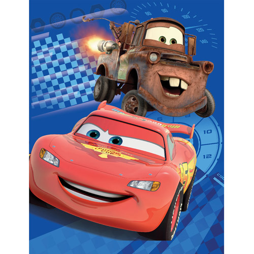 "Disney Cars 46"" x 60"" Throw"