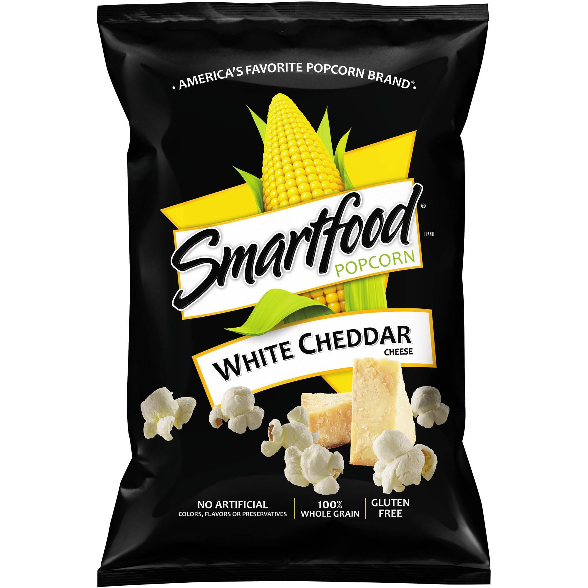 Smartfood White Cheddar Cheese Popcorn, 5 oz