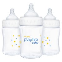 Simply Playtex Baby Bottle 6 Ounce - 3 Pack