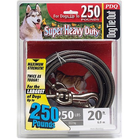Boss Pet Q6820 000 99 20' Extra Extra Large Dog PDQ Cable Tie