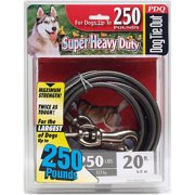 Boss Pet Q6820 000 99 20' Extra Extra Large Dog PDQ Cable Tie Out