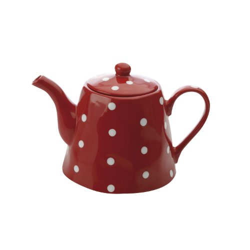 Maxwell and Williams Sprinkle Teapot 40.5-Ounce Red  sc 1 st  Walmart.com : maxwell williams sprinkle dinnerware - pezcame.com