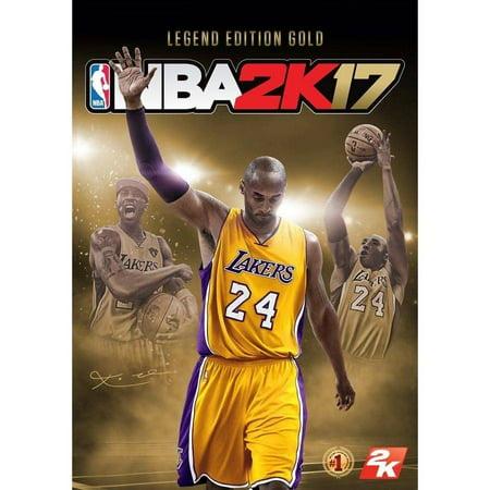 NBA 2K17 - Legend Edition Gold (PC) (Email (Nba 2k17 Kobe Bryant Legend Edition Gold)