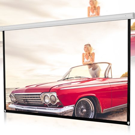 120inch HD Projector Screen 16:9 Home Cinema Theater Projection Portable Screen (Presentation Projector Hd)