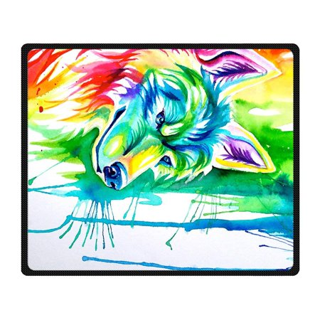 RYLABLUE Wolf Blanket Fleece Throw Blanket for Sofa or Bed 58x80 inches - image 3 de 3