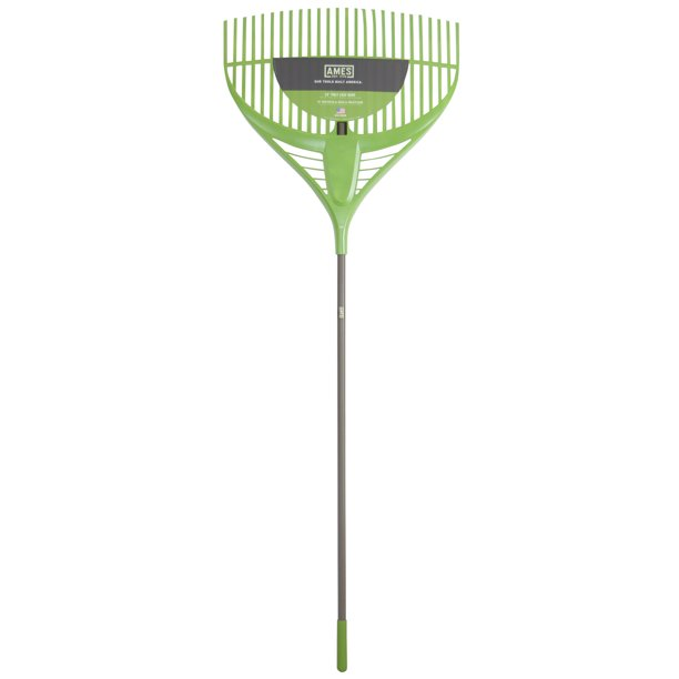 "Ames 2915806 26"" Poly Leaf Rake With Steel Handle"