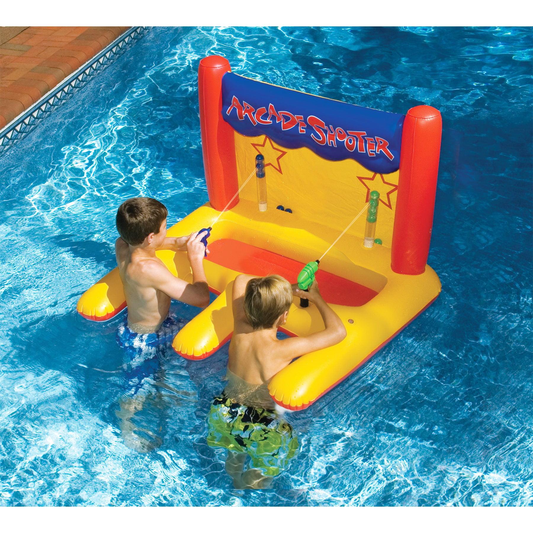 Swimline Vinyl Arcade Water Shooter Pool Toys, Multicolor by Swimline