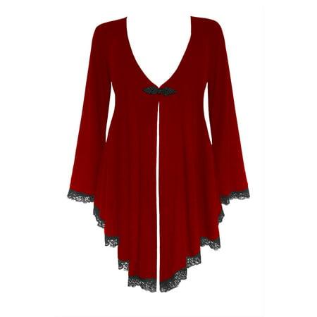 884af3491d Dare Fashion - Dare To Wear Victorian Gothic Boho Women's Plus Size Embrace  Corset Sweater S - 5x - Walmart.com