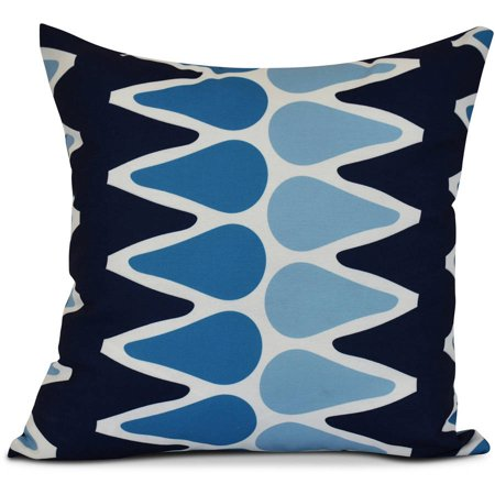 Simply Daisy Geometric Multi Colored Picks Outdoor Pillow