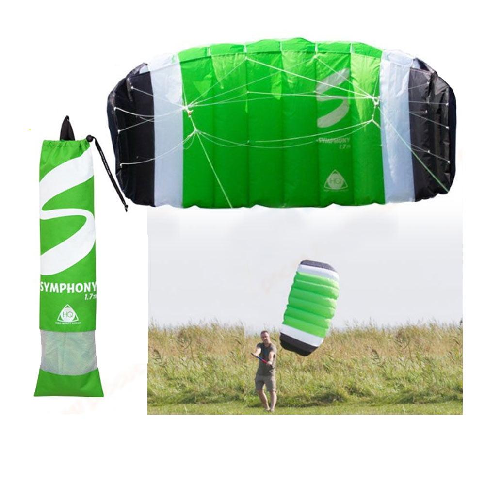 Trainer HQ Kites Symphony TR II 1.7 Bar Lines Land Foil Kitesurfing Kiteboarding by HQ KITES