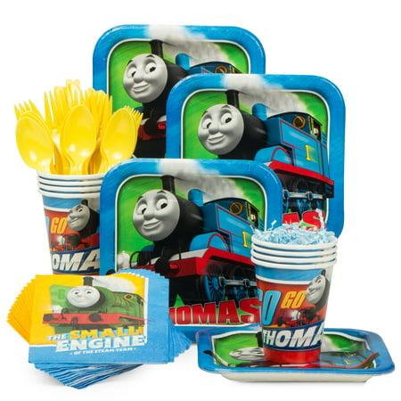 Thomas The Tank Party Supplies (Thomas Birthday Party Standard Tableware Kit (Serves)