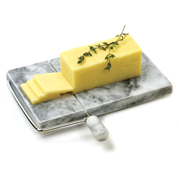 Parmesan Cheese Slicer,Danish Cheese Slicer With Wire Replacement,Marble Gray