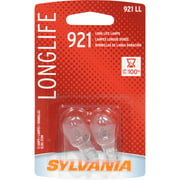 Sylvania 921 Long-Life Miniature Bulb, Twin Pack