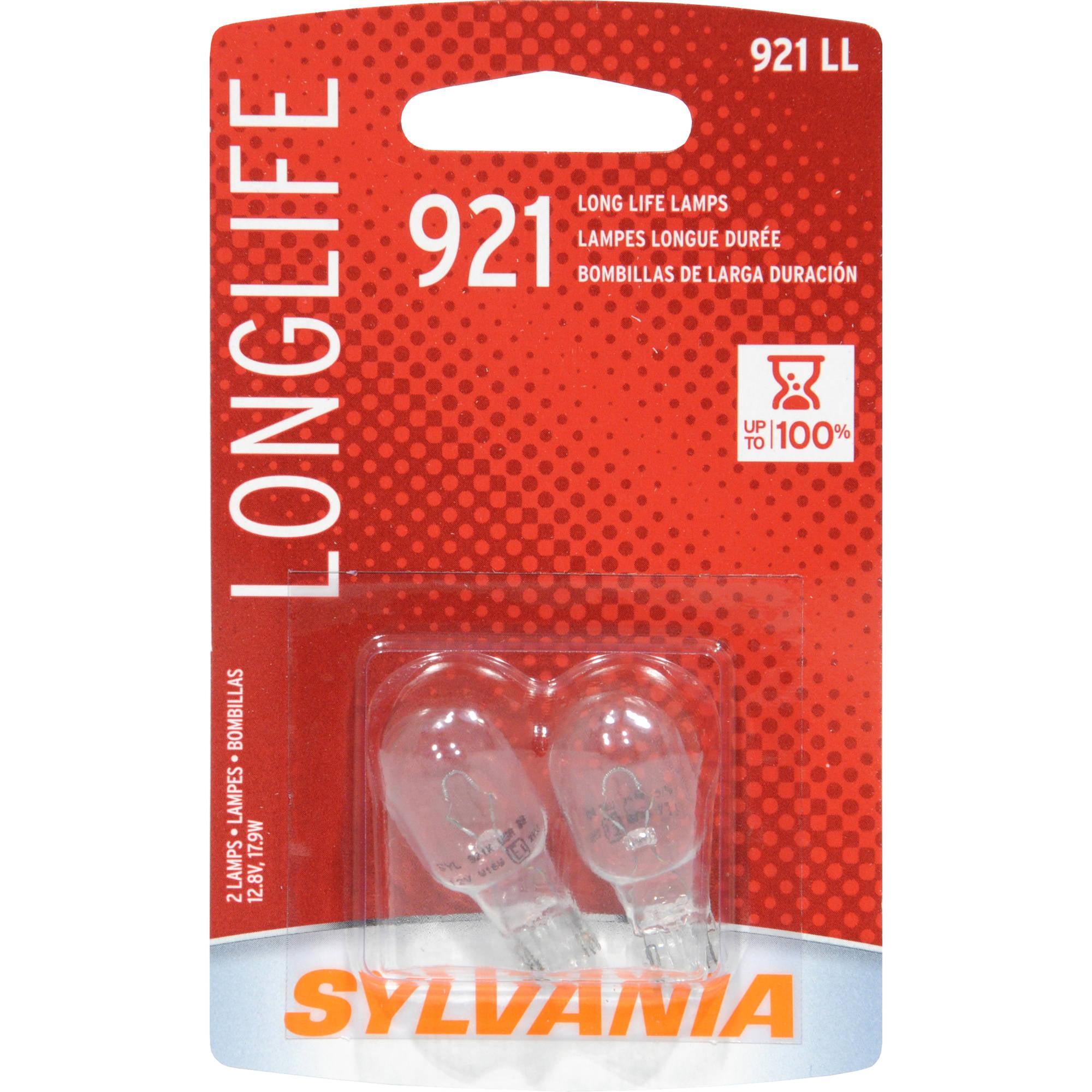 Sylvania 921 Long-Life Miniature Bulb, Twin Pack