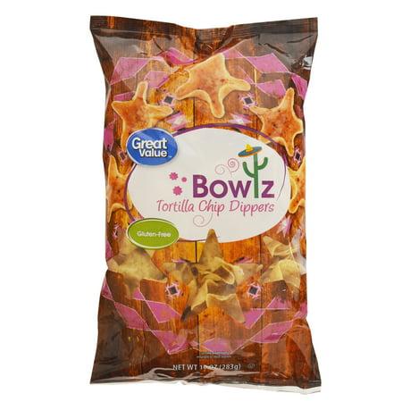 Great Value Tortilla Chip Dippers Bowlz, 10 oz](Halloween Tortilla Chips)